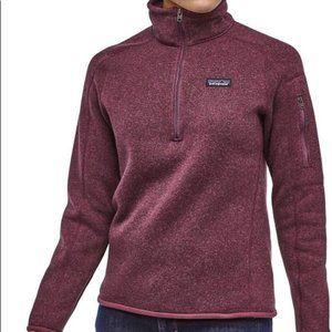 Patagonia Better Sweater 1/4 Zip Light Balsamic